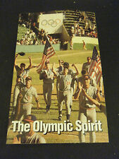 The Olympic Spirit:  Portraits of Hope & Excellence (Paperback)