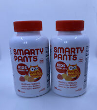 Lot Of 2 Smarty Pants Kids Complete Gummy Multivitamin & Omega 3 Fish Oil 5/2020