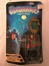 New Visionaires Lexor Darkling Lords 1987 Hasbro Vintage Action Figure Rare NWT