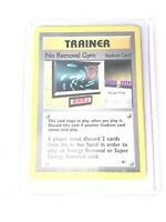 NO REMOVAL GYM - Gym Heroes  - 103/132 - Rare Trainer - Pokemon Card - EXC/NM
