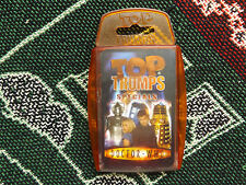 TOP TRUMPS SPECIALS - DOCTOR WHO - COMPLETE IN CASE
