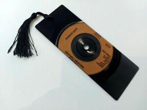 "Marvin Gaye, Sexual Healing, 7"" Vinyl Record Bookmark gift"