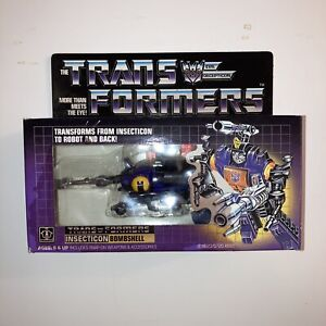 G1 Transformers Insecticon Bombshell *MIB*
