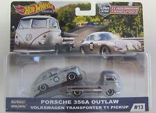 Hot Wheels Team Transport #13 Porsche 356A MoMo with VW T1 Pickup