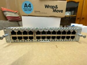 CISCO MODEL SM-ES3G-24-P , 24 x 10/100/1000 ETHERNET PORT ENHANCE EtherSwitch
