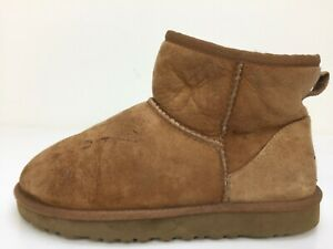 UGG Australia Brown Sheepskin Fleece Lined Boots WomensSize UK 5 EUR 38