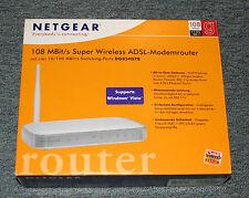 Router von Netgear DG834GTB Super Wirless ADSL-Modemrouter 108Mbit/s
