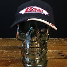 "Black ""Carson Trailer.com Race team"" Baseball Cap Adjustable Hat"
