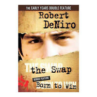 The Swap / Born to Win DVD Robert De Niro, George Segal - NEW