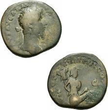 Lucius Verus Sesterz Rom 165-166 TR POT VI IMP III Parther Tropaeum RIC 1443 - S