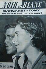 MARGARET en COUVERTURE de NOIR et BLANC No 814 de 1960 VENDANGE BRACEROS
