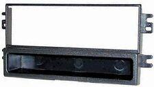 Mascherina supporto autoradio 1 Din (ISO) sola per Kia Carnival dal 2001 al 2005