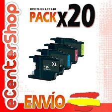 20 Cartuchos LC1240 NON-OEM Brother MFC-J6510DW / MFCJ6510DW 24H