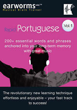 Rapid Portuguese: 200+ Essential Words and Phrases Anchored into Your Long Term Memory with Great Music: v. 1 by Marlon Lodge (Mixed media product, 2006)