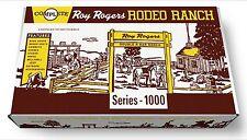 Marx Roy Rogers Rodeo Ranch Play Set Box   Series 1000