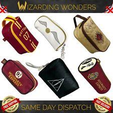 Harry Potter Make Up Wash Bag Deathly Hallows Hogwarts Official Gift UK