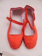 Urban Outfitters~Hao Yu Orange Mary Jane Shoes size 7