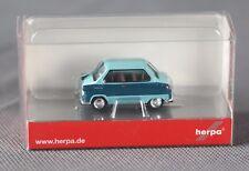 Herpa 027571-002 h0 1:87 Zündapp Janus pastelltürkis/Pastel Turquoise article neuf!