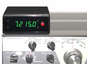 CUSTOM DIGITAL FREQUENCY DISPLAY for the DRAKE R-4 R-4A R-4B R-4C RECEIVERS