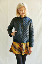 Pele Che Coco Kelly Quilted Recycled Leather Jacket Women Size X-Small $298 2125
