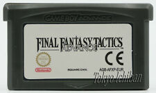 Game Final Fantasy Tactics - Nintendo Game Boy Advance GBA Sp DS Lite