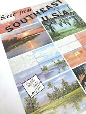 Scenes From Southeast USA How-To Art Instruction Walter Foster Painting Book VTG