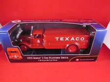 Texaco - 1935 Dodge 3 Ton Platform Truck Bank- 1.38 - Ertl - Brand New & Boxed