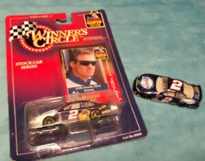 1998 Winner's Circle Rusty Wallace Elvis 1:64 Diecast Car New, w/ bonus #2 car
