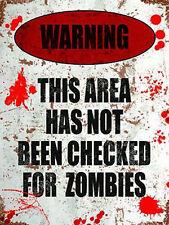 AVVERTENZA non verificato per Zombies, divertente cameretta porta AREA, GADGET