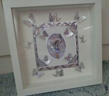 *3D Flower Fairy Bild   -Lavender Fairy-*   (Bastelarbeit)