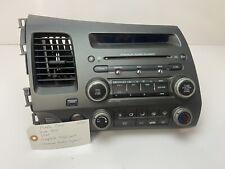Honda Civic 2006-2011' OEM Comolete Head Unit Premium CD Player Heater W520