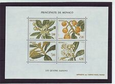 Monaco Nature & Plants Postal Stamps