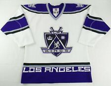 Vintage Starter NHL LA Kings Fight Strap Hockey Jersey Size Mens 46-R