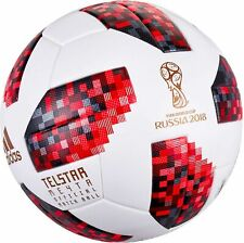 ADIDAS TELSTAR 2018 FIFA WORLD CUP RUSSIA REAL REPLICA SOCCER MATCH BALL SIZE 5