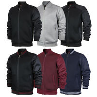 Maximos USA Men's Lightweight Stylish Mesh Zip Up Track Bomber Jacket