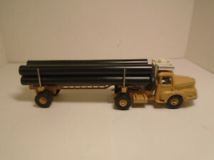 Matchbox Kings K-10, DINKY TOYS 39b/893 PIPE TRUCK FABRICATED REPLACEMENT PIPES