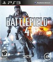 PLAYSTATION 3 PS3 VIDEO GAME BATTLEFIELD 4 BRAND NEW AND SEALED