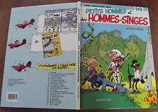ANCIEN ALBUM PETITS HOMMES & DES HOMMES - SINGES N°14  de 1983 . EO