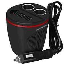 SUNGOLDPOWER 12V/24V coche cargador sostenedor de taza Cargador Para Automóvil Divisor para encendedor