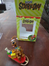 Scooby Doo Christmas Ornament Sled Cartoon Network