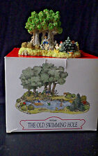 LIBERTY FALLS OLD SWIMMING HOLE AH146 CHRISTMAS WESTERN VILLAGE ACCESSORY