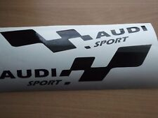 AUDI sport  LARGE  decal...on 12 year vinyl... x2