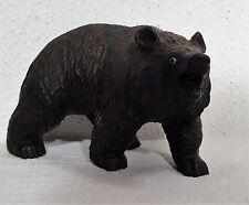 Antike Holzschnitzarbeit Sculptur Brienzer Bär mit  Glasaugen um 1900