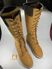 Knee High Timberland Boots Tan Size 7 UK 40 EUR