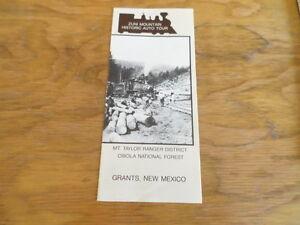 Zuni Mountain Historic Auto Tour Guide Free Domestic Shipping