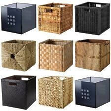 Ikea Boxes - Baskets Dimension-ed To Fit EXPEDIT/KALLAX Shelving Unit