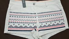 New SOUTH  Shorts Embroidered UK size 10 Ladies Short Girl's Women's