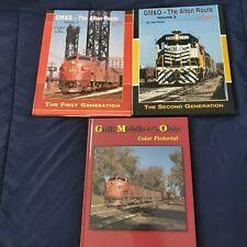 3 GM&O Books In Color