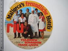 Aufkleber Sticker Riu Hotel's Scharnow Transeuropa (M1894)