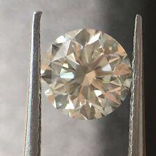 0.50 Carat Ct White Round  Diamond H-I Color VVS 0.50-0.59 Loose Certified